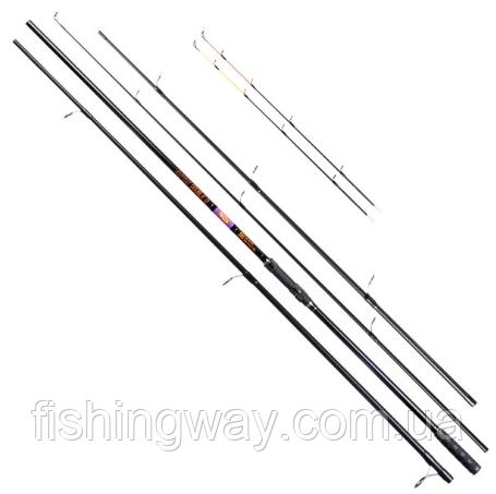 Фидер Brain Apex Double 3.6m carp rod: 3,25lb; feeder rod: up to 130g