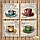 Схема для вышивания бисером Tela Artis Кофе в Париже-6 ТМ-106, фото 3