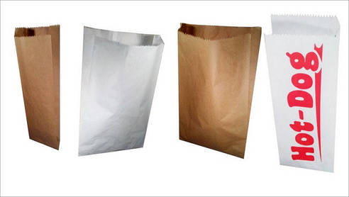 Пакеты бумажные упаковочные