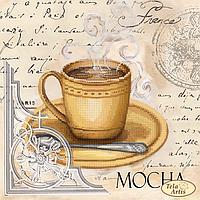 Схема для вышивания бисером Tela Artis Кофе в Париже-6 ТМ-106