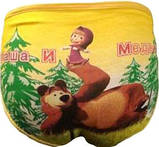 Дитячі трусики Маша і Ведмідь, фото 2