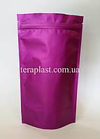 Дой-Пак 250г  140х240  фиолетовый с зип замком