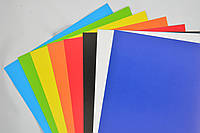 Наборцветной бумаги и картона двухсторонних 8+8 листов