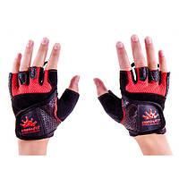 Перчатки CrownFit Grippy RX-04 р. M(красные)