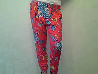 Женские штаны шаровары в цветочки в Одессе