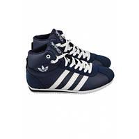 Кроссовки Adidas Roma Mid синие