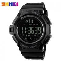 Мужские спортивные часы SKMEI 1245 BLACK. Гарантия 12 месяцев.