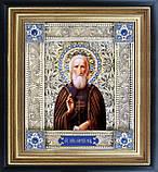 Святой Сергий Радонежский скань икона