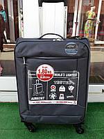 Ультра легкий тканевый чемодан под ручную кладь на 4-х кол. Airtex 6287  FANTOM b926407ee7b