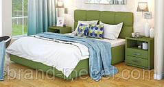 Ліжко двоспальне у м'якій оббивці Мілея / Кровать двуспальная в мягкой обивке Милея