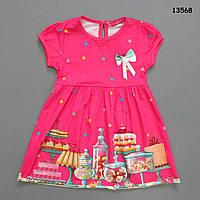 """Летнее платье """"Сладости"""" для девочки. 3, 4, 5 лет"""