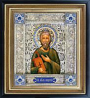 Святой апостол Андрей икона скань