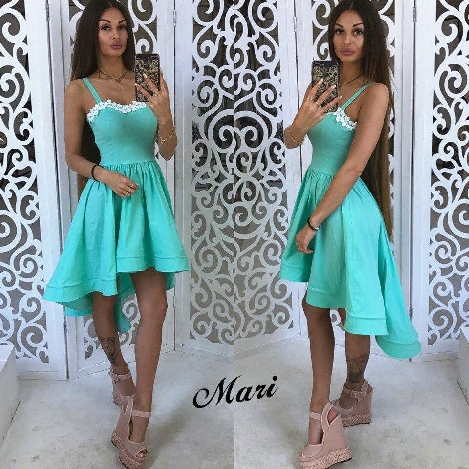 053414baa5f Голубое коктейльное платье — купить недорого в Харькове в интернет ...