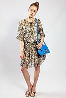 Женское платье Massimo Dutti легкое натуральное