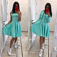 Стильный женский костюм (платье+пиджак)
