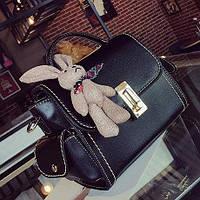 Новинка!!! Женская мини сумка с зайчиком