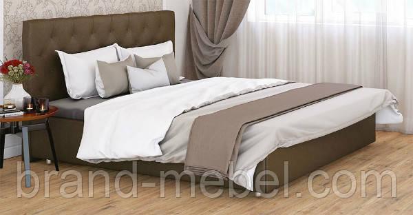 Ліжко двоспальне у м'якій оббивці Рада / Кровать двуспальная в мягкой обивке Рада