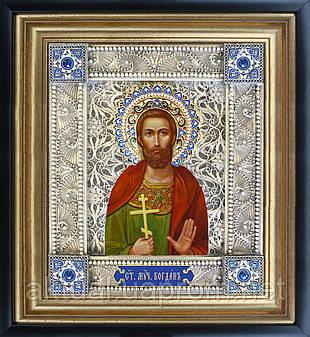 Святой Богдан скань икона