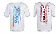 Детская вышиванка футболка на мальчика в расцветках, 98-104