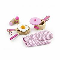 """Набор """"Маленький Повар"""" Розовый (50116), Viga Toys"""