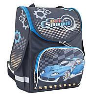 """Рюкзак школьный каркасный Blue car 553424, ТМ """"Smart"""""""