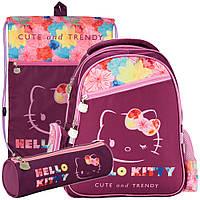 Рюкзак в комплекте 3 в 1 Hello kitty KITE