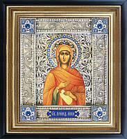 Святая Анна именная икона скань