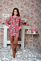 """Молодежное  короткое платье """"0041"""", фото 1"""