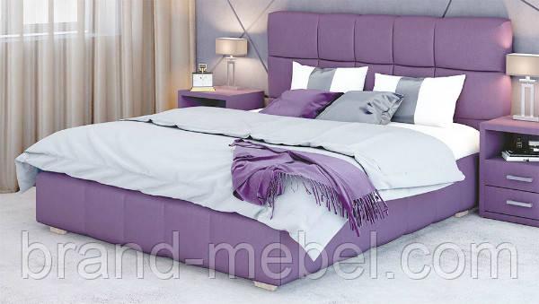 Ліжко двоспальне у м'якій оббивці Престиж / Кровать двуспальная в мягкой обивке Престиж