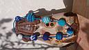 Слингобусы - бусы для кормления Небесная синь, фото 3