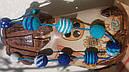 Слингобусы - бусы для кормления Небесная синь, фото 2