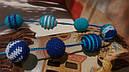 Слингобусы - бусы для кормления Небесная синь, фото 4