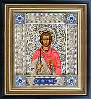 Святой Виталий икона  скань
