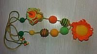 Слингобусы - бусы для кормления Солнечный день