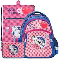 Рюкзак в комплекте 3 в 1 Cute Bunny KITE