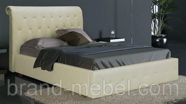 Ліжко двоспальне у м'якій оббивці Фріда / Кровать двуспальная в мягкой обивке Фрида
