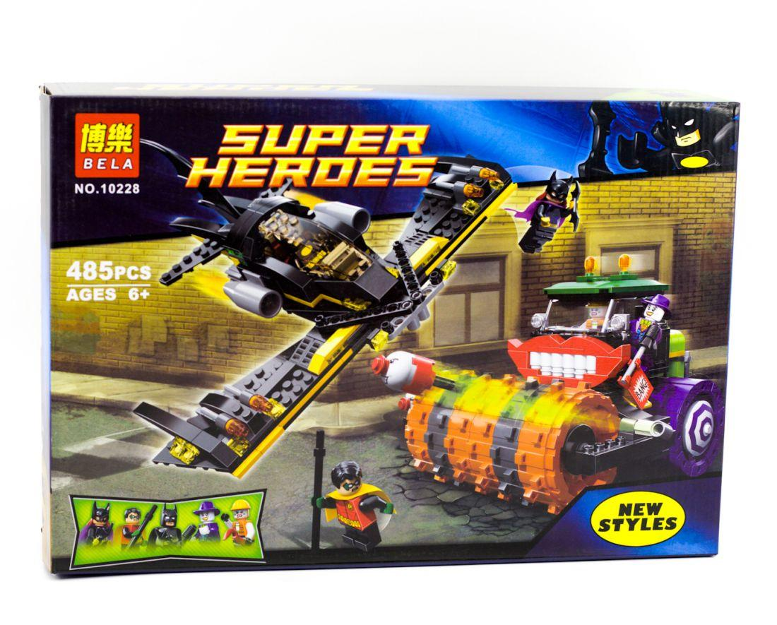 Конструктор Bela 10228 Super heroes Паровой каток Джокера (Аналог Lego Super Heroes 76013)