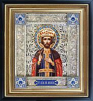 Святой Михаил икона  скань