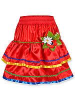 Детская юбка вышиванка на девочку, 5-8лет