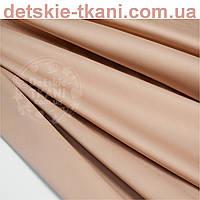 Сатин цвета какао, ширина 240 см (№791с)