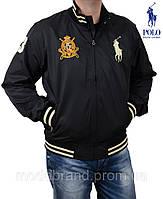Спортивная куртка на молнии от Polo Ralph Lauren(Поло Ральф Лорен).