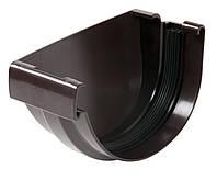 Заглушка желоба левая с резиновым уплотнителем