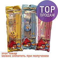 Набор канцелярских принадлежностей Angry Birds/ детские игры