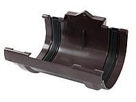 Соединительная муфта желоба с резиновым уплотнителем