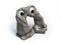 Хендгам Лизун Supergum Серебро 25г (запах дыни) Украина Putty, Handgum, Nano gum,  Neogum