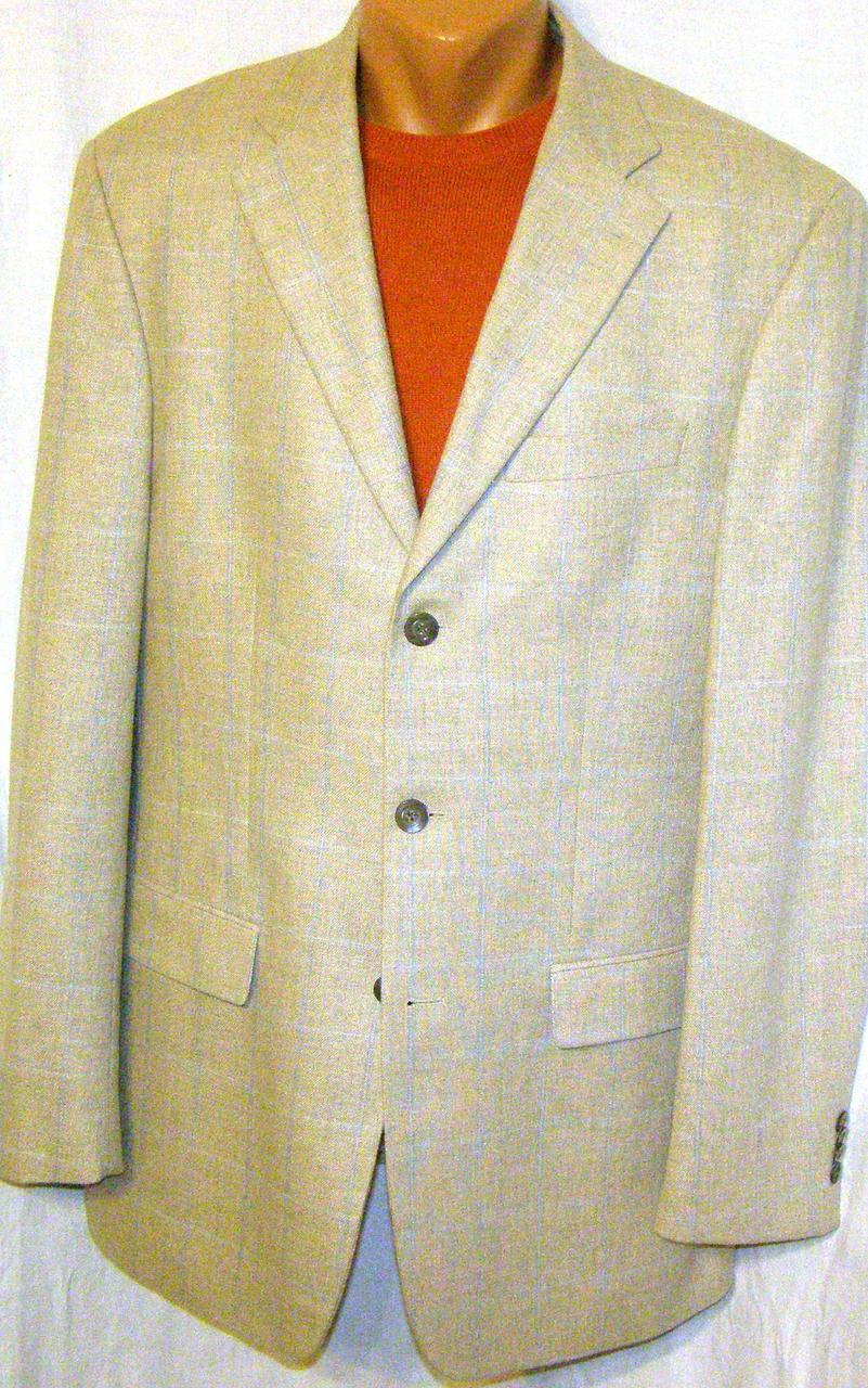 Пиджак шерстяной Rene Lezard (50-52)