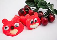Хендгам Supergum Красный 25г (запах клубники) Украина Putty Супергам, Handgum, Nano gum, Умный пластилин