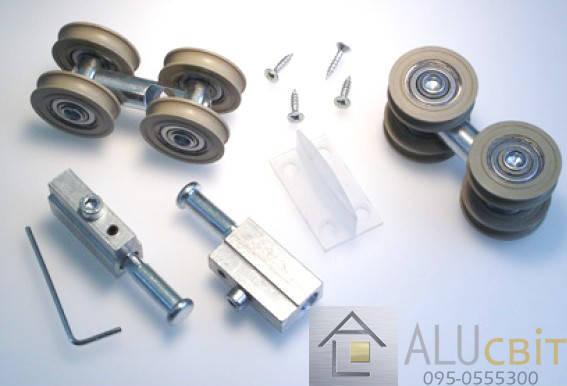 Крепежный набор для дверных перегородок систем купе, фото 2