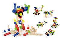 Набор строительных блоков 68 шт. (50382), Viga Toys