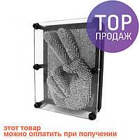 Сyвeнир Пин арт Гвоздики 3D, экспресс-скульптор гвозди ART-PIN, большие / оригинальный подарок
